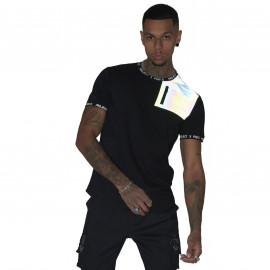 Tee shirt Project X paris noir et réfléchissant 2010108