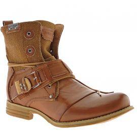Bunker homme - Boots - Camel - SOZOBUK3