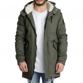 Parka homme BACKBONE kaki TWO ANGLE