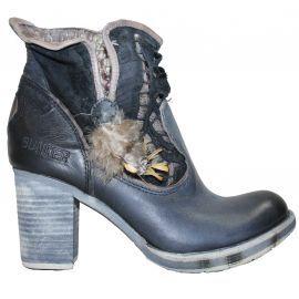 Chaussure BUNKER plume noir