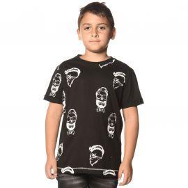 Tee shirt LUSHON junior noir DEELUXE