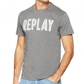 Tee shirt homme REPLAY gris M3478