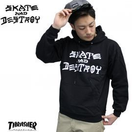 SWEAT H SKATE AND DESTROY NOIR