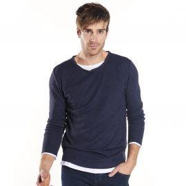 Tee shirt homme MOHANSON bleu DEELUXE