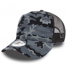 Casquette homme Trucker Camouflage grise 80489267