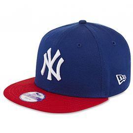 Casquette junior Bleu et rouge NY NEW ERA