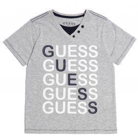 Tee-shirt junior GUESS gris