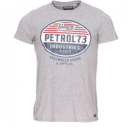tee shirt junior petrol industries gris
