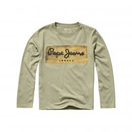 Tee-shirt junior CHARING Beige PEPE JEANS