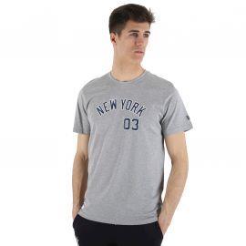Tee-shirt homme 11517748 New Era gris